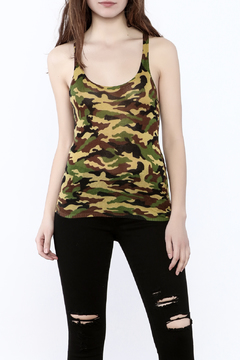 Olivaceous Camo Tank Top - Product List Image