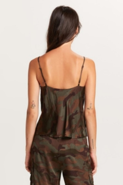 Olivaceous Camouflage Print Top - Alternate List Image