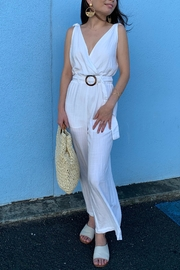 Olivaceous Casablanca Jumpsuit - Product Mini Image