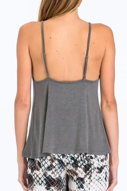 Olivaceous Criss-Cross Strappy Tank - Side cropped