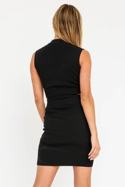 Olivaceous Cut-Out Mini Dress - Back cropped