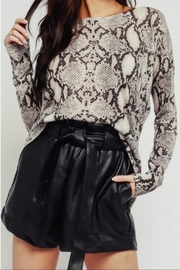 Olivaceous Dark Snake Sweater - Front cropped