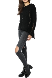 Olivaceous Distressed Hilo Sweater - Front cropped