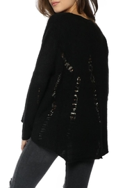 Olivaceous Distressed Hilo Sweater - Front full body