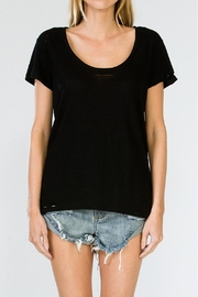Olivaceous Distressed Tee - Product Mini Image