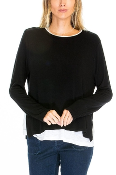 Olivaceous Double Layered Top - Alternate List Image