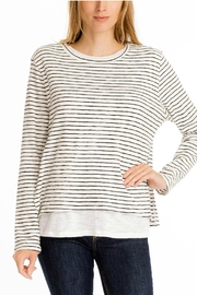 Olivaceous Double Lined Sweater - Product Mini Image