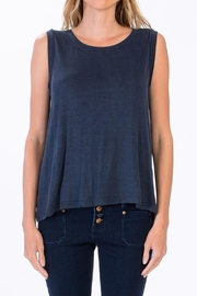 Olivaceous Drop Back Tank - Front cropped
