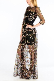 Olivaceous Enchanted Dress - Front full body