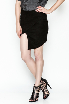Olivaceous Faux Suede Skirt - Product List Image