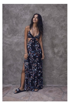 Olivaceous Floral Bliss Maxidress - Alternate List Image