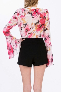Olivaceous Floral Bodysuit - Alternate List Image