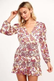 Olivaceous Floral Mini Dress - Product Mini Image
