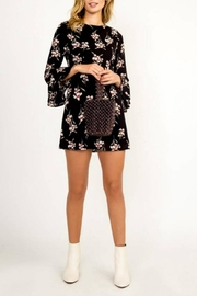Olivaceous Floral Play Dress - Product Mini Image
