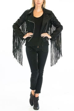 Olivaceous Fringe Jacket - Alternate List Image