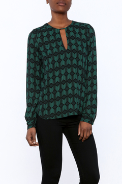 Shoptiques Product: Green Geo Blouse