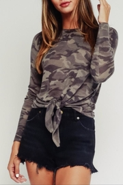 Olivaceous Grey Camo Sweater - Product Mini Image