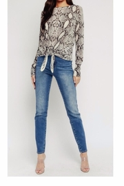 Olivaceous Grey Snake S\weater - Product Mini Image