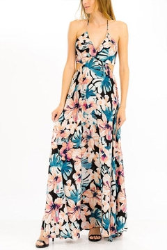 Shoptiques Product: Hibiscus Maxi Dress