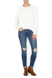 Olivaceous Ivory Soft Sweater - Front full body