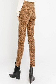 Olivaceous Leopard Pants - Front full body