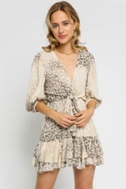 Olivaceous Leopard Print Dress - Product Mini Image