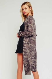 Olivaceous Light Camo Cardigan - Side cropped