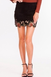 Olivaceous Mini Skirt - Product Mini Image