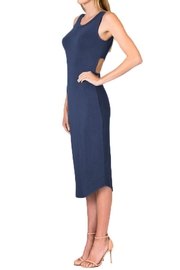 Olivaceous Model Dress - Front full body