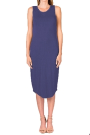 Olivaceous Model Dress - Front cropped