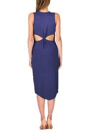 Olivaceous Model Dress - Side cropped