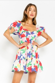 Olivaceous Multicolored Floral Dress - Product Mini Image