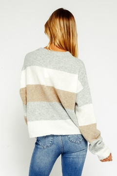 Olivaceous Multicolored Sweater - Alternate List Image