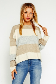 Olivaceous Multicolored Sweater - Product List Image