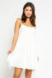 Olivaceous Off White Dress - Product Mini Image
