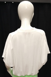 Olivaceous Off White Top - Front full body