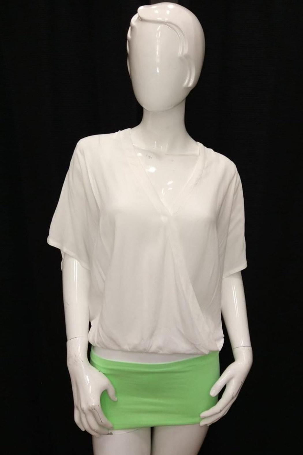 Olivaceous Off White Top - Main Image