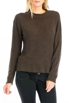 Olivaceous Open Back Sweater - Alternate List Image