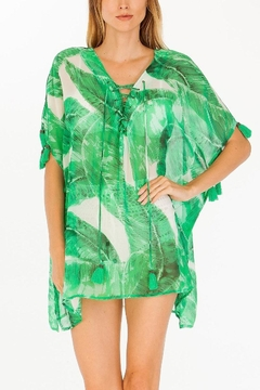 Olivaceous Palm Caftan - Product List Image