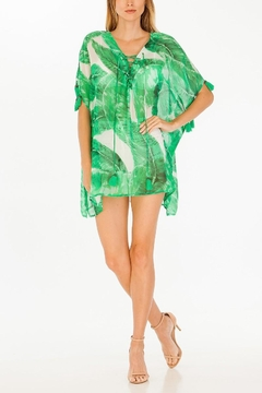 Olivaceous Palm Caftan - Alternate List Image