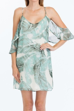 Shoptiques Product: Palm Leaf Dress