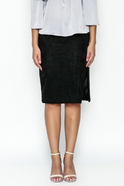 Olivaceous Pencil Skirt - Front full body