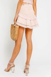 Olivaceous Pink Smock Skirt - Side cropped