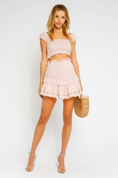 Olivaceous Pink Smock Skirt - Product List Image