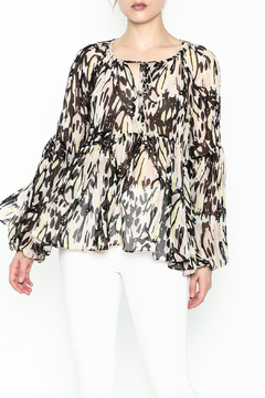 Shoptiques Product: Printed Babydoll Blouse