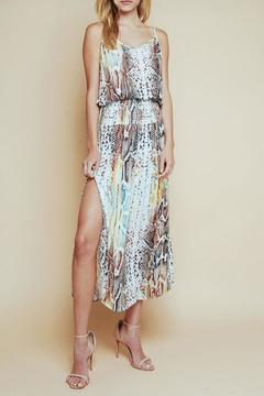 Shoptiques Product: Rainbow Snake Midi-Dress