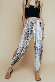 Olivaceous Rainbow Snake Pants - Product Mini Image