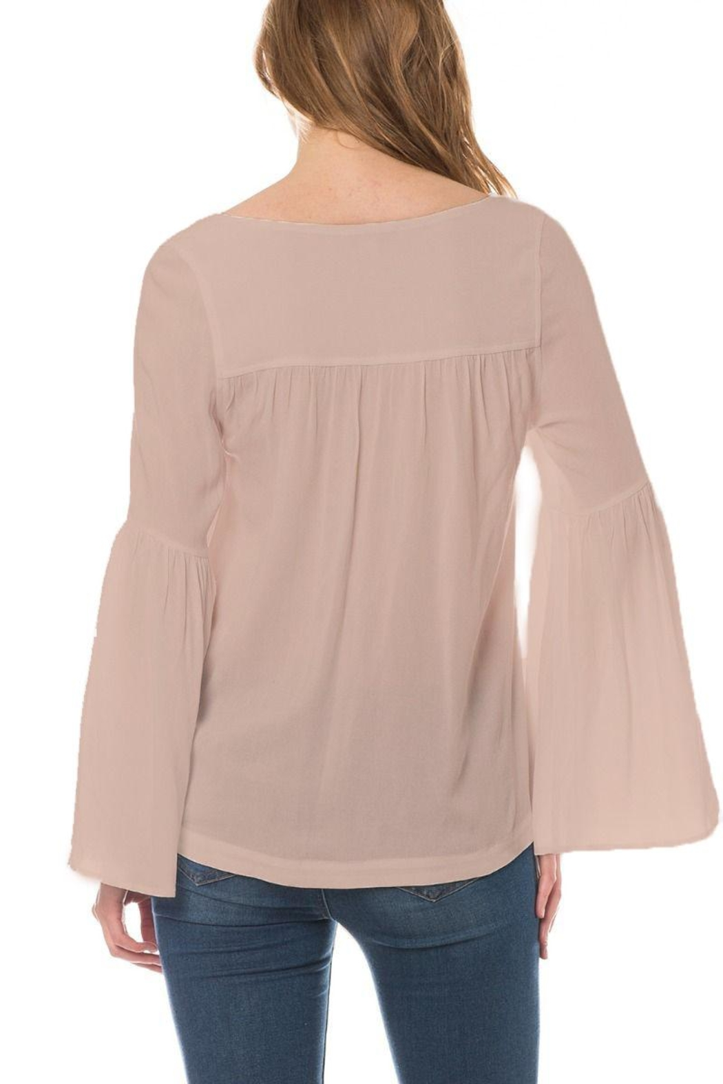 Olivaceous Rene Top Latte - Front Full Image