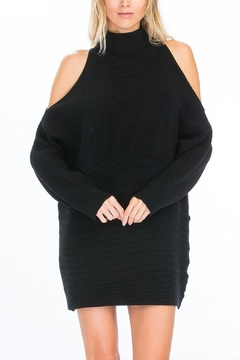 Olivaceous Ribbed Mock Dress - Product List Image