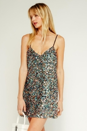 Olivaceous Sequin Mini Dress - Product Mini Image
